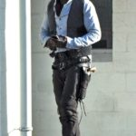 First Images of Idris Elba on the set of the Dark Tower