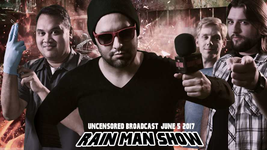 comedy, talk radio, rain man show,