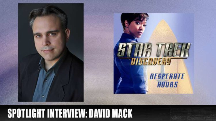 From the Holodeck: Spotlight Interview – David Mack (Star Trek Novelist)