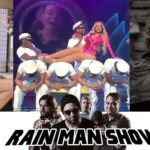 Rain Man Show: August Ames, Christmas Lights and Wands